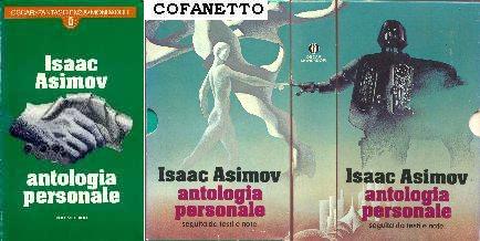copertina di Antologia Personale. Volume primo