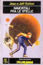 copertina di un volume della collana Fantascienza Junior. Stellar 2000
