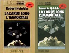 copertina di Lazarus Long, l'immortale