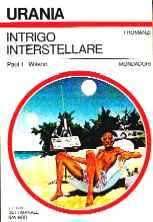 copertina di Intrigo interstellare
