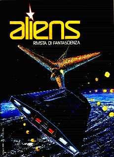 copertina di Aliens. Rivista di Fantascienza 3