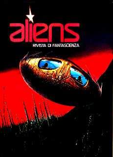 copertina di Aliens. Rivista di Fantascienza 4