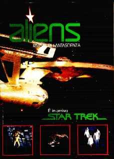 copertina di Aliens. Rivista di Fantascienza 5