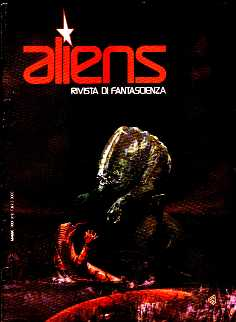 copertina di Aliens. Rivista di Fantascienza 7