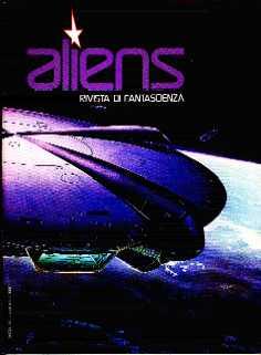 copertina di Aliens. Rivista di Fantascienza 8