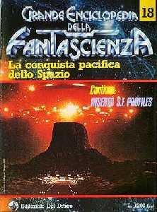 copertina di La conquista pacifica dello Spazio
