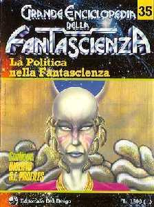 copertina di La Politica nella Fantascienza