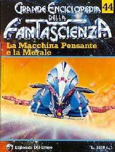 copertina di La Macchina Pensante e la Morale