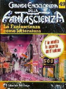 copertina di La Fantascienza come letteratura