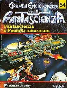 copertina di Fantascienza e Fumetti americani