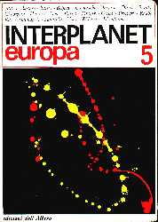 copertina di Interplanet Europa 5