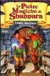 copertina di Le pietre magiche di Shannara