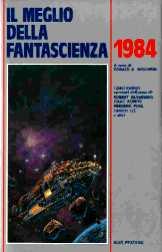 copertina di Il meglio della Fantascienza 1984