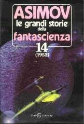 copertina di Le grandi storie della fantascienza 14  (1952)