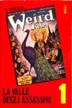 copertina di un volume della collana Il Meglio di Weird Tales