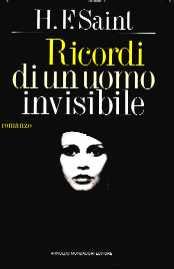 copertina di Ricordi di un uomo invisibile