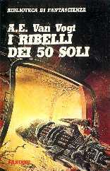 copertina di un volume della collana Biblioteca di Fantascienza