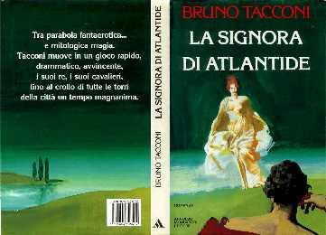 copertina di La Signora di Atlantide
