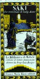 copertina di La reticenza di lady Anne