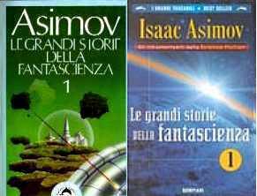 copertina di Le grandi storie della fantascienza 1
