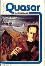 copertina di Frankenstein