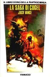 copertina di La saga di Cugel