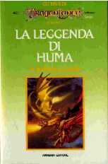 copertina di un volume della collana Gli Eroi di Dragon Lance