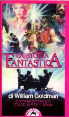 copertina di La storia fantastica