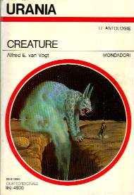 copertina di Creature