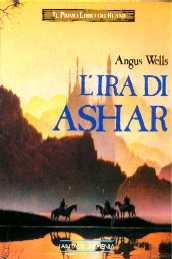 copertina di un volume della collana Trilogia di Ashar