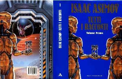 copertina di un volume della collana I Libri di Isaac Asimov
