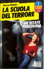 copertina di un volume della collana Il Giallo dei Ragazzi. Serie Horror
