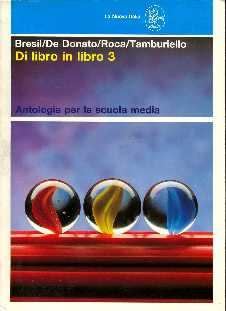 copertina di Di libro in libro 3. Antologia per la scuola media