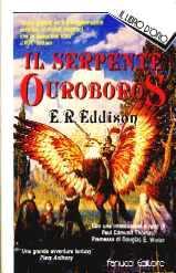 copertina di Il serpente Ouroboros