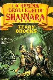 copertina di La regina degli elfi di Shannara