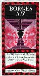 copertina di Jorge Luis Borges A/Z