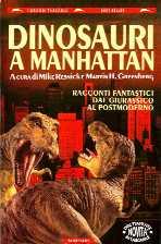 copertina di Dinosauri a Manhattan