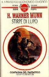 copertina di Stirpe di lupo
