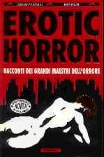 copertina di Erotic Horror. Racconti dei grandi maestri dell'orrore