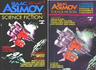 copertina di Isaac Asimov Science Fiction Magazine 3.ns