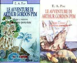 copertina di Le avventure di Arthur Gordon Pym
