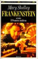 copertina di Frankenstein ovvero il Prometeo Moderno