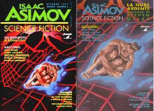 copertina di Isaac Asimov Science Fiction Magazine 6.ns