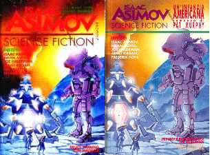 copertina di Isaac Asimov Science Fiction Magazine 8.ns