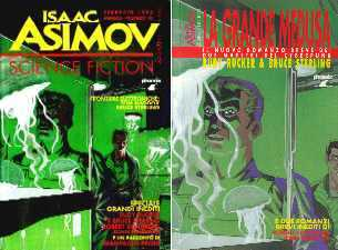 copertina di Isaac Asimov Science Fiction Magazine 10.ns