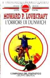 copertina di L'orrore di Dunwich