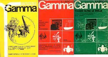 copertina di Gamma tre anno primo volume primo
