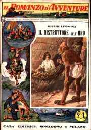 copertina di un volume della collana Il Romanzo d'Avventure