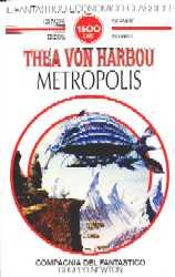 copertina di Metropolis