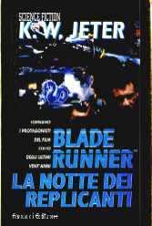 copertina di Blade Runner. La notte dei replicanti